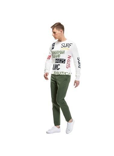Nautica Chino Pantolon Yeşil